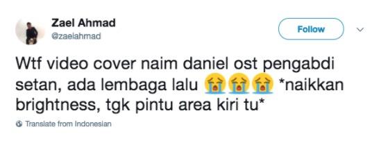 Naim Daniel Nyanyi OST Pengabdi Setan Seru Ibu Mawarni?
