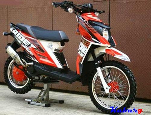 Top modifikasi motor x ride