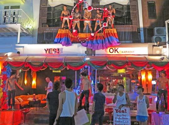 Yes ! fantastic gay bar in Phuket
