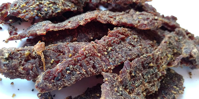 garlic pepper beef jerky