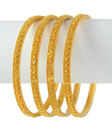 gold and diamond bangles collection | trendzlook