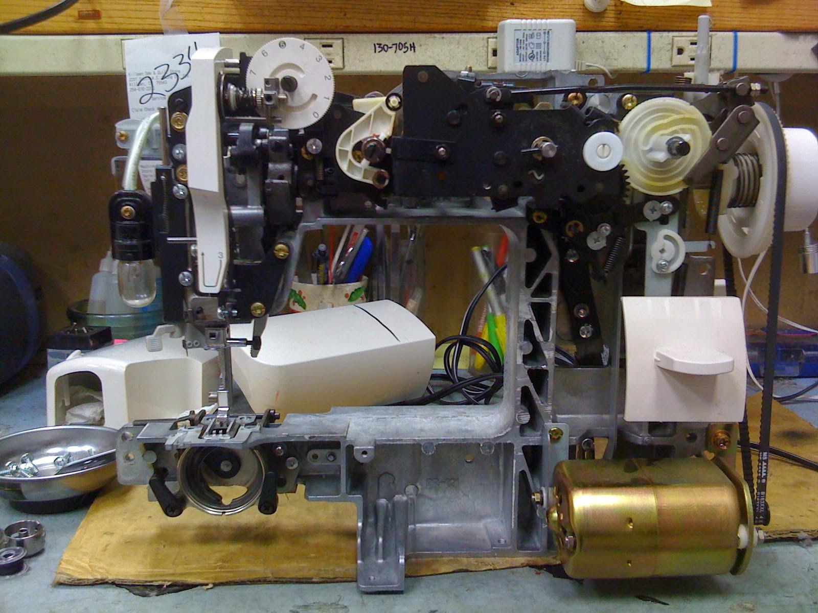 Sewing Machine Repair: Disassembly: How To Repair Sewing ...