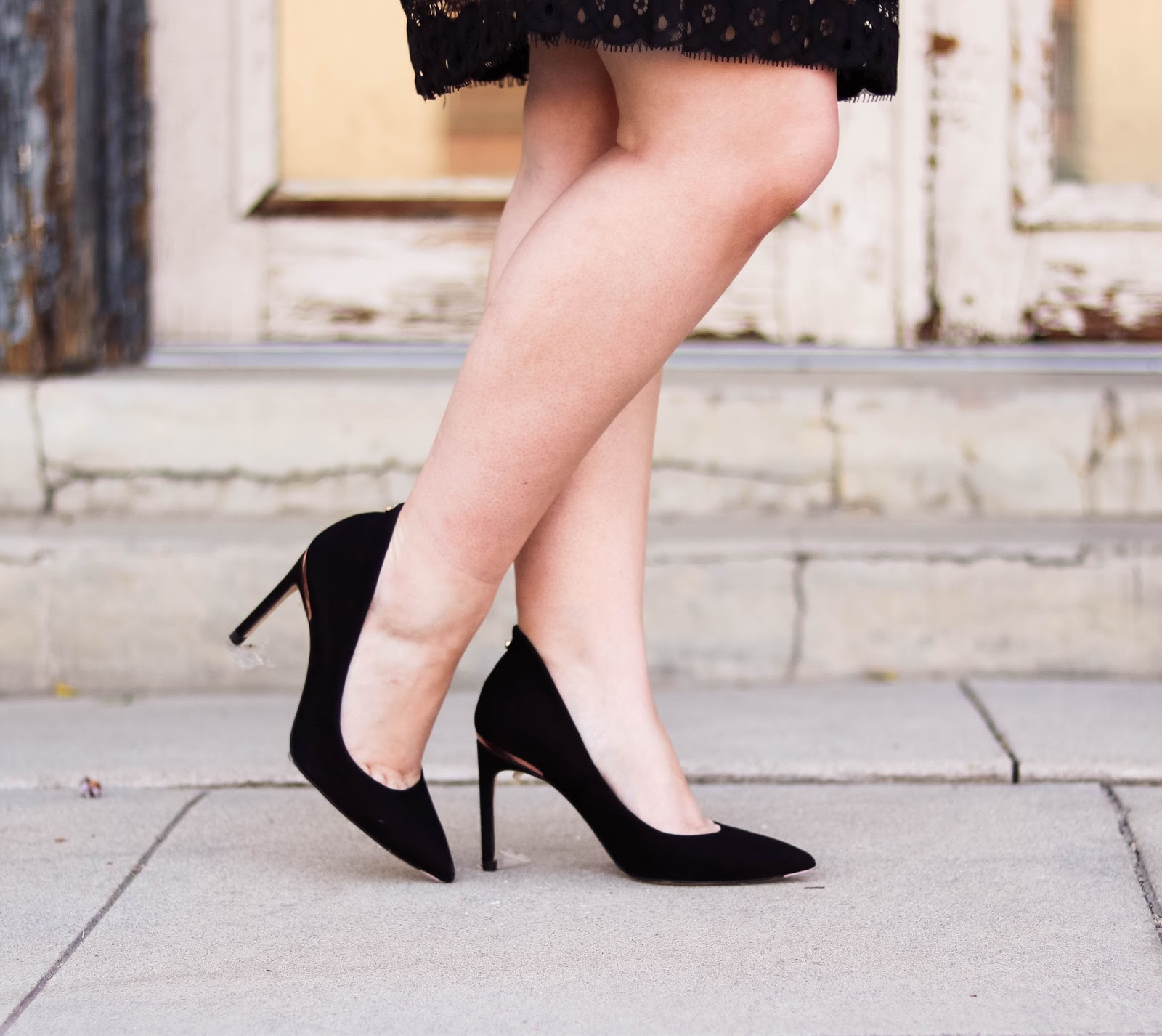 black ted baker heels