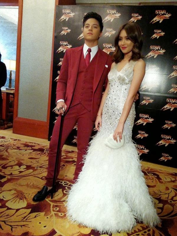 Kathryn Bernardo and Daniel Padilla (KathNiel) at the 8th Star Magic Ball