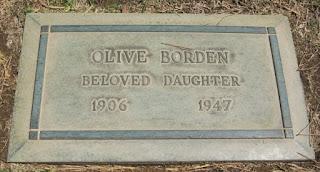 Olive Borden Grave