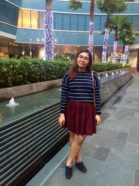 preppy, mango, h&m, pleated skirt, nautical, stripes, knitted sweater, sneakers, keds, life of A, Aizha Guevarra, style, fashion, style blogger, ootd, fashion blogger,