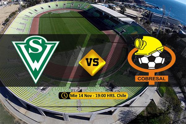 Mira Santiago Wanderers vs Cobresal en vivo y online por la Final de la Liguilla Ascenso Ida