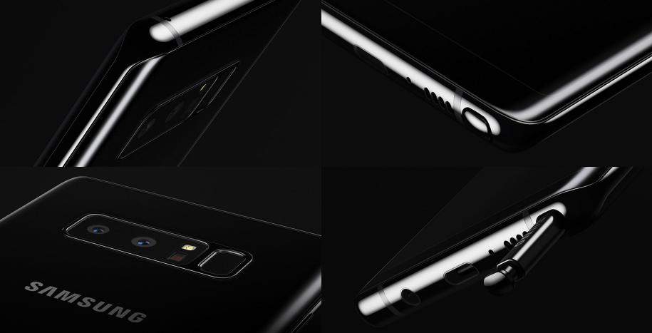 Galaxy Note 8 Design