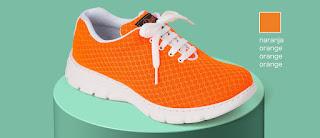 Imagen con el zapato/zapatilla Calpe naranja
