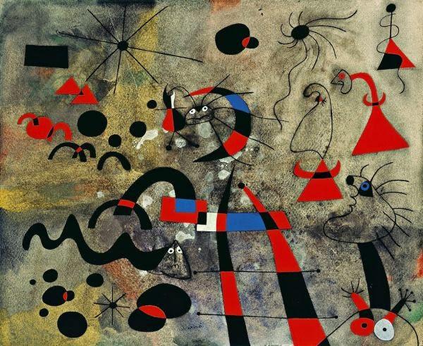 Fuga Pela Escada - Miró, Joan e suas principais pinturas