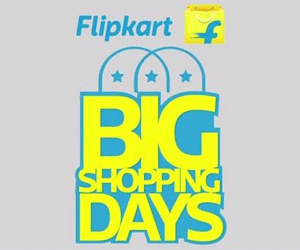 Flipkart Big Shopping Days Best Deals