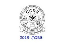 CCRS Chennai Recruitment 2019 Application form (18 vacancies)