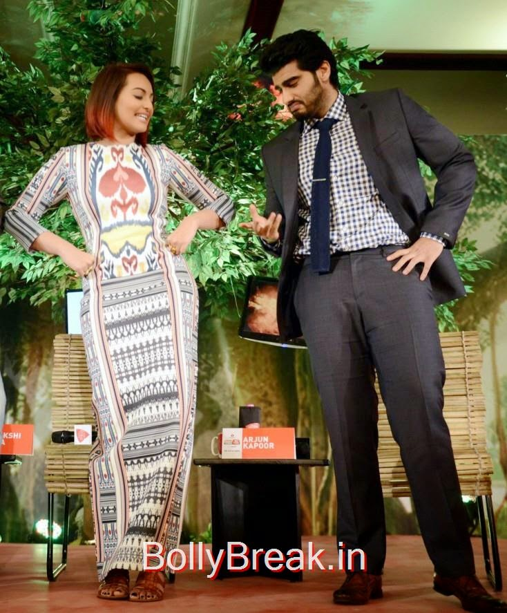 """Arjun Kapoor: """" You've got some nice moves Sonakshi but I am the best."""""""
