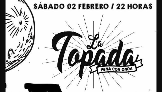 SABADO 2 DE FEBRERO: LA TOPADA