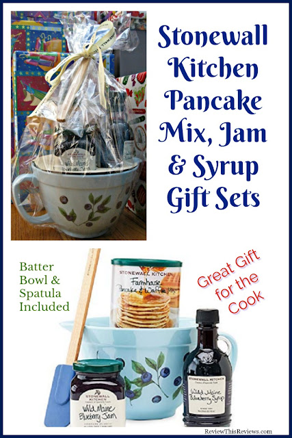 Stonewall Kitchen Pancake Mix, Maine Syrups, & Gift Set Reviewed
