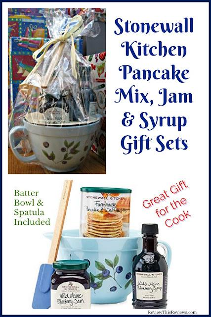 Stonewall Kitchen Pancake Mix, Maine Syrups, & Gift Set Reviewed