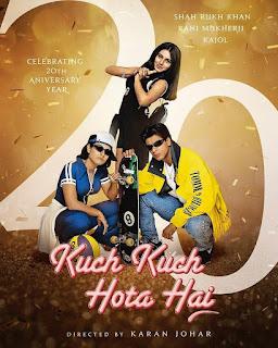 Poster Perayaan 20 Tahun Film Kuch Kuch Hota Hai
