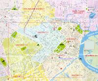 Mapa ciudad Ho Chi Min, Vietnam