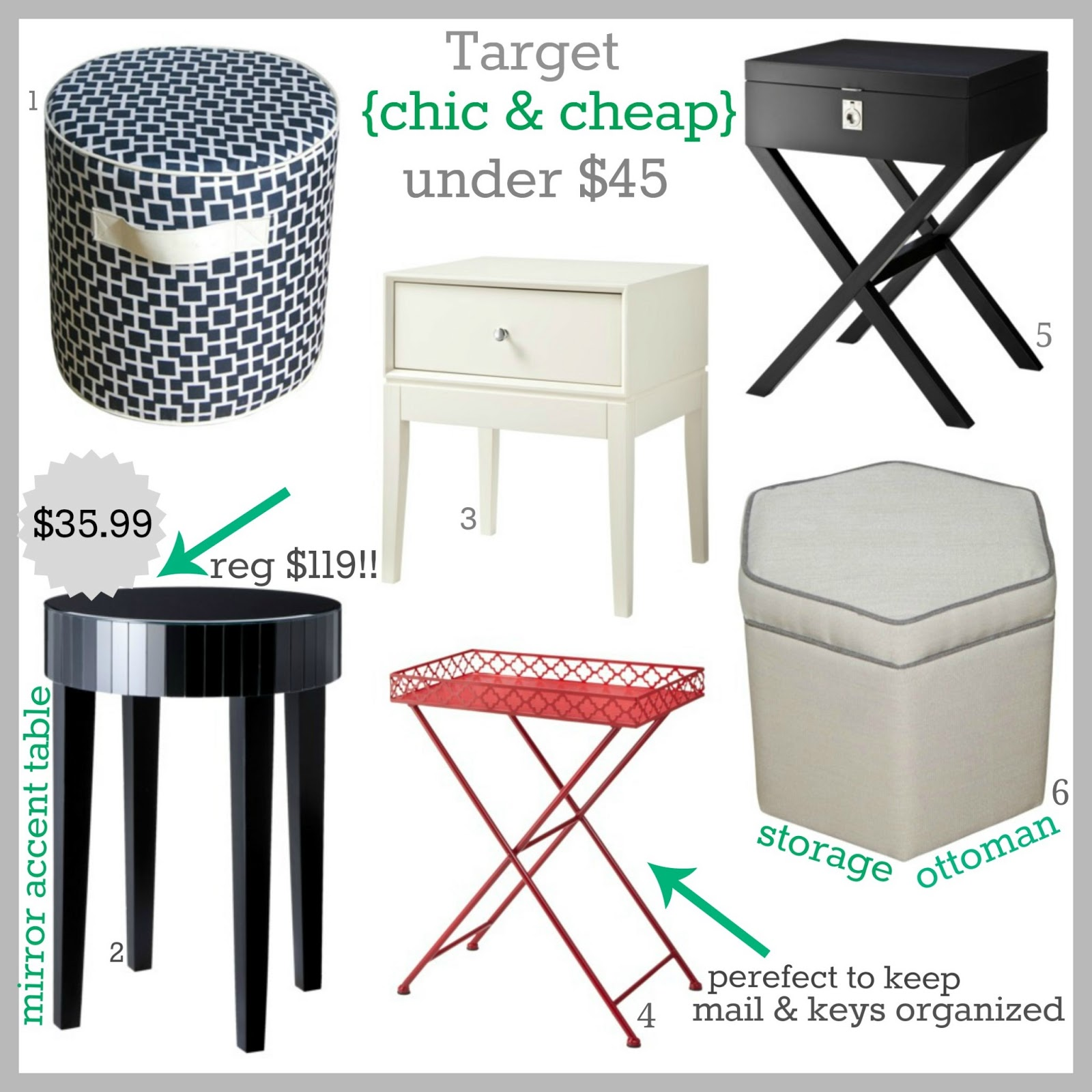 Tracy S Notebook Of Style Target Chic And Cheap Furniture Clearance