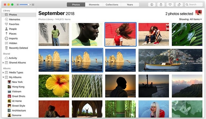 Apple Photo Overview