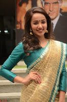 Tejaswi Madivada looks super cute in Saree at V care fund raising event COLORS ~  Exclusive 084.JPG