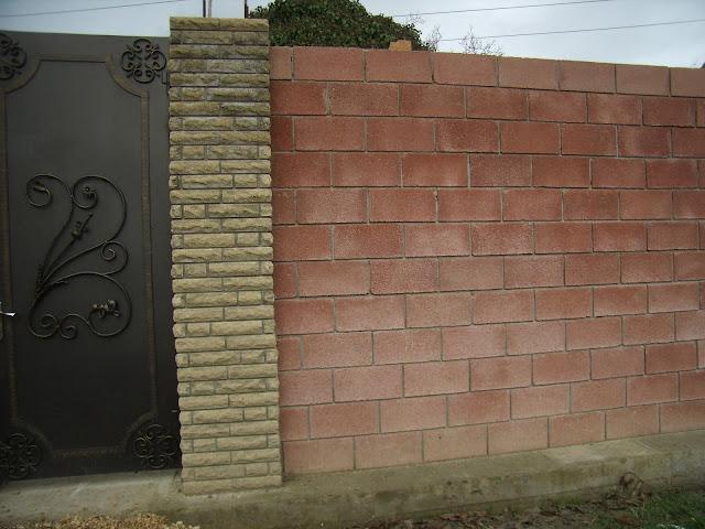 Забор из французского камня в Крыму