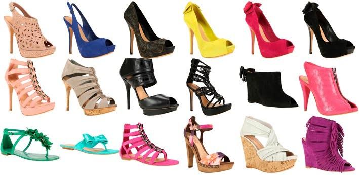 0bc3337f48 Pés e Calçados Femininos  Texto - Como usar sapatos coloridos.