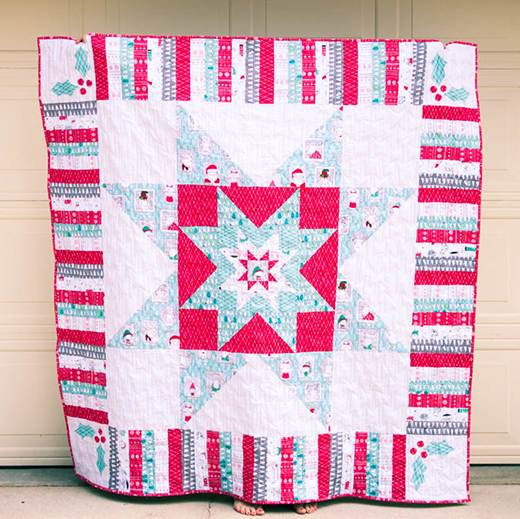 The Merry Stars Quilt Free Pattern