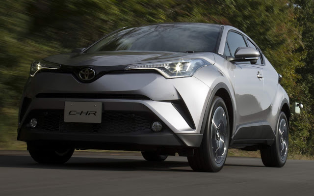 Toyota C-HR lidera vendas entre os SUVs no Japão