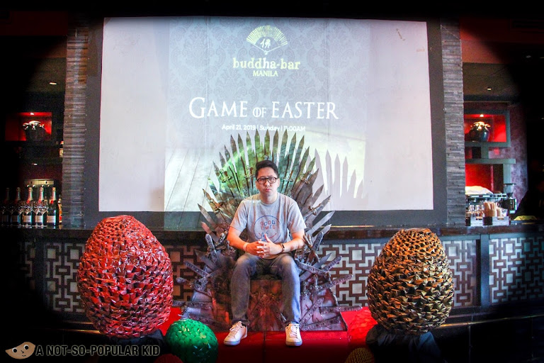 Renz Cheng in Buddha Bar, Game of Easter