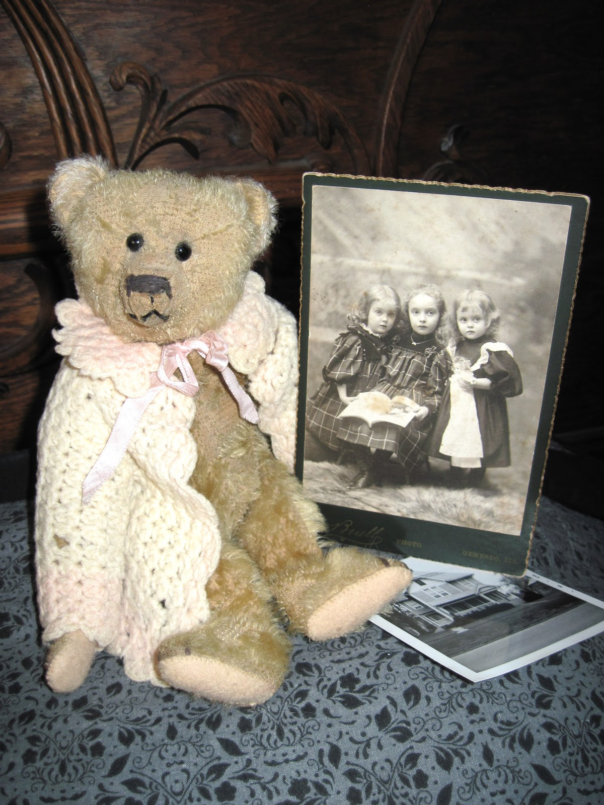 Tracy's Toys (and Some Other Stuff): Antique Teddy Bear