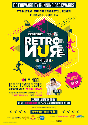 Retro Run For Charity