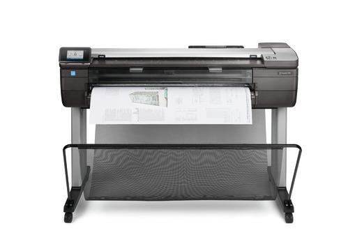HP DesignJet T830 Large Format Multifunction Printer