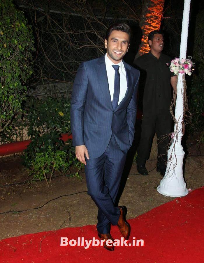 Ranveer Singh, Ahana Deol Wedding & Reception Pics