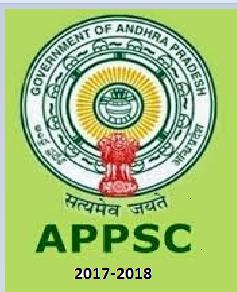 APPSC Recruitment 2017-2018 Notificaton at www.psc.gov.in, APPSC Jobs 2017, appsc latest vacancy, psc.gov.in, Govt jobs in Andhra Pradesh