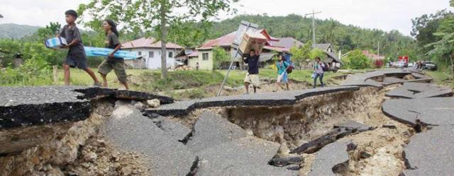 Penyebab Terjadinya Gempa Bumi