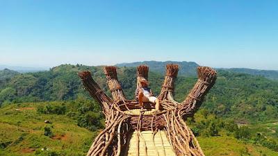 Lokasi Dan Rute Ke Sabana Puncak Pilar Sukabumi