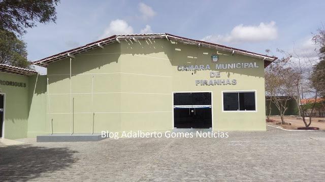 Câmara de Vereadores de Piranhas, abre licitação para contratar empresa para fornecimento de combustível