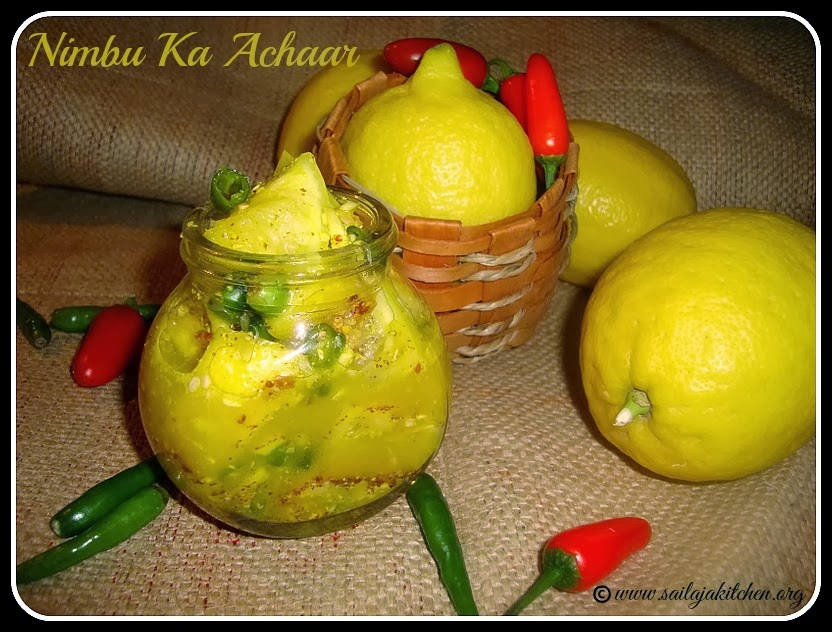 /Nimboo Ka achaar Recipe /Lemon Pickle /Nimbu Ka Achaar – No Oil Indian Lime Pickle / North Indian Style Lemon Pick
