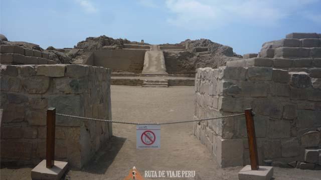 Rampa Zona Arqueologica Pachacamac