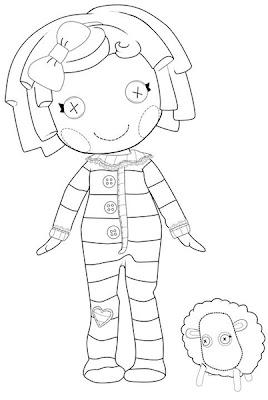 muñeca lalaloopsy con oveja