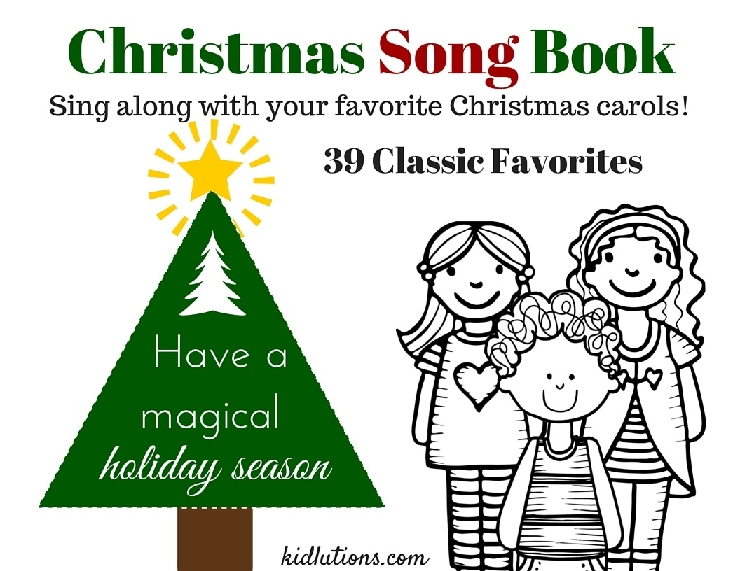 image relating to Christmas Caroling Songbook Printable referred to as Xmas Carol Sing-Alongside SongBook