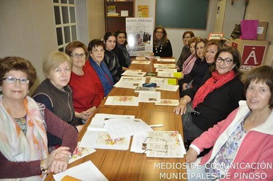 """El Blog de María Serralba - Encuentro Club de Lectura """"Maxi Banegas""""-Pinoso"""