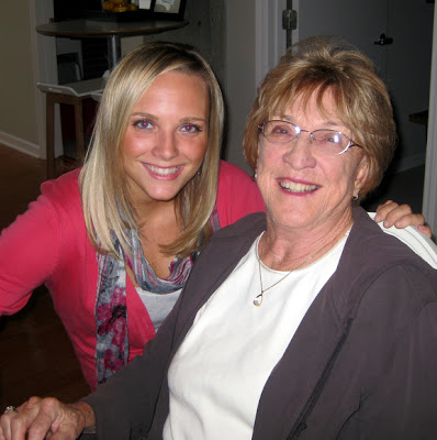 Casey and her Grandmother