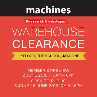 Machines Warehouse Clearance Sales