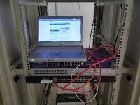 小型ONU接続で「フレッツ・スクエア」ページにアクセス