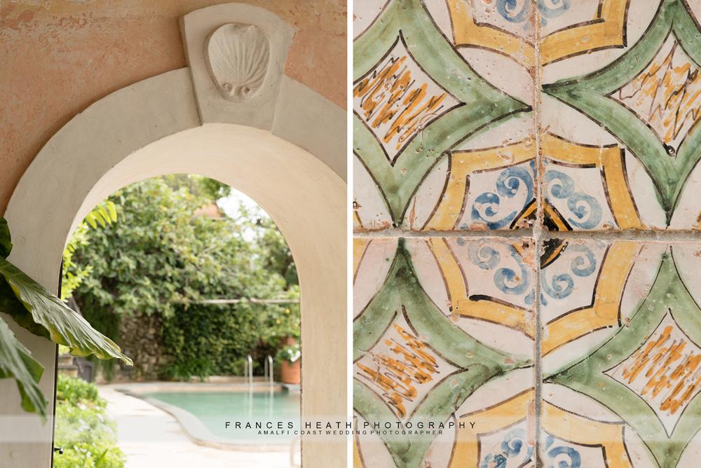 Positano villa details