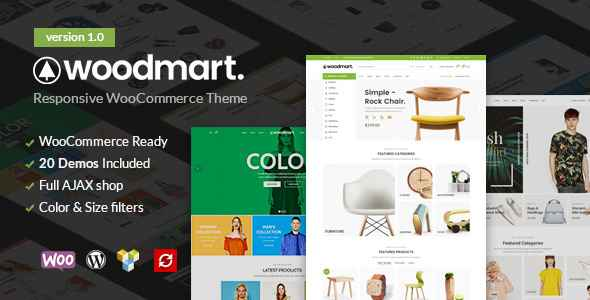 WoodMart - WooCommerce Responsive WordPress Theme