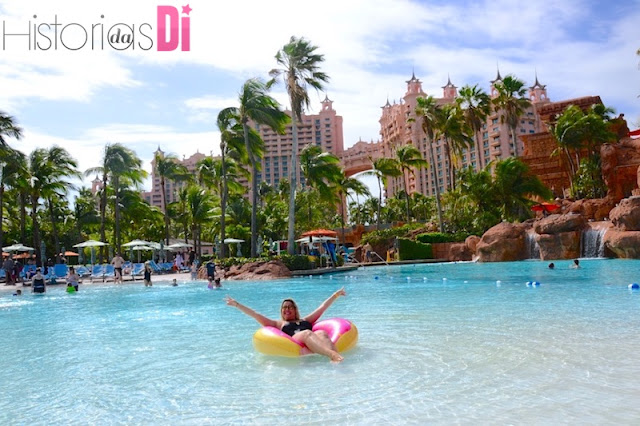 O famoso Resort Atlantis em Paradise Islands
