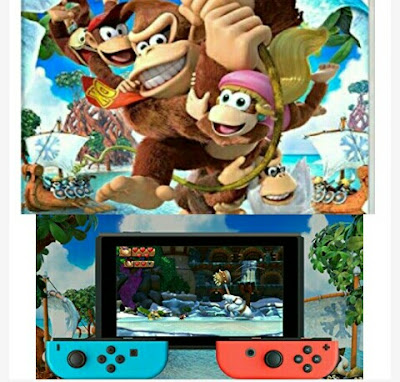 Video Game - Donkey Kong Country: Tropical Freeze - Nintendo